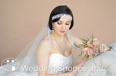 Ansonia Bridal Headpiece 8571