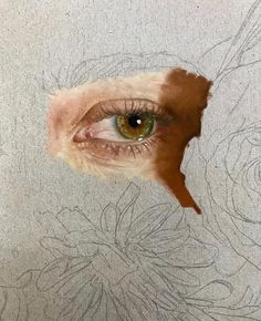art and sketches Art Hoe, Eye Art, Portrait Art, Portraits, Art Plastique, Pretty Art, Art Sketchbook, Aesthetic Art, Oeuvre D'art