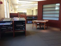 Reference Room (First Floor - Quiet Study)