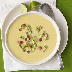15 Delicious Vegan Dinners | Chilled Corn Soup | MyRecipes