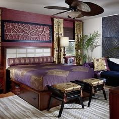 Moroccan Bedroom Decor Design, Pictures, Remodel, Decor and Ideas - page 3 Asian Style Bedrooms, Contemporary Bedroom, Bedroom Inspirations, Bedroom Interior, Bedroom Design, Bedroom Styles, Asian Inspired Bedroom, Asian Bedroom, Moroccan Decor Bedroom