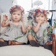 Baby Twins Fashion Children Ideas For 2019 Twin Baby Girls, Twin Babies, Toddler Girl, Baby Twins, Baby Baby, Toddler Fashion, Boy Fashion, Fashion Children, Tatum And Oakley