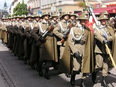 Polish Podhale rifles (mountain infantry)