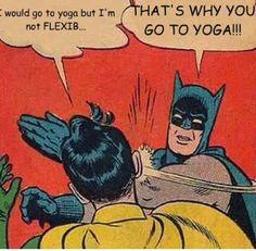yoga+excuse