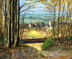 The Edge of the Forest Pierre Bonnard - circa 1918