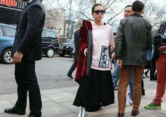 Olivia Kim  #London  #StreetStyle  #Koshchenets