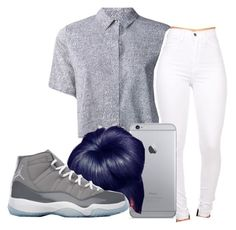 """""""my mood"""" by neca-xoxo ❤ liked on Polyvore featuring T By Alexander Wang, NIKE, women's clothing, women, female, woman, misses and juniors"""