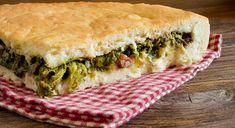 Escarole pizza: 5 tricks for a perfect result – World Food Focaccia Pizza, Focaccia Recipe, Calzone, Pizza Recipes, Wine Recipes, Cooking Recipes, Healthy Snacks, Healthy Eating, Healthy Recipes