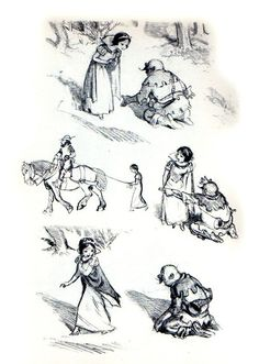 Disney's Snow White concept art