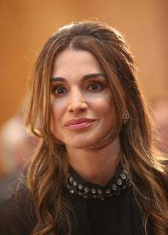 Queen Rania of Jordan arrives at the Walther Rathenau Award ceremony on September 17, 2015 in Berlin, Germany.