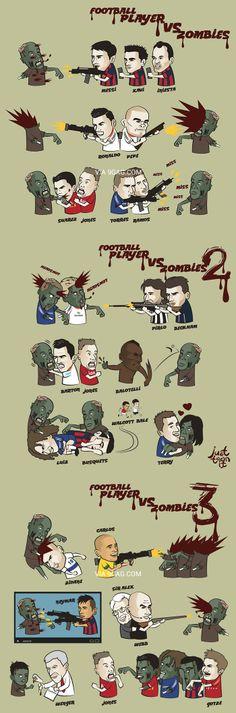 Footballers vs. zombies*~*