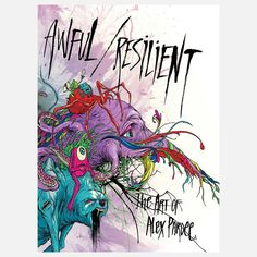 Awful / Resilient media, alex pardee, hardcover books