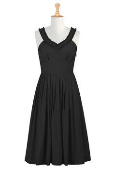 I love this dress from eShakti - Shop Women's designer fashion dresses, tops  Size 0-26W  clothes