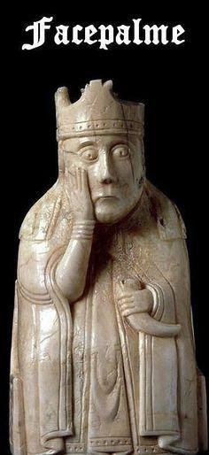 Medieval Facepalm