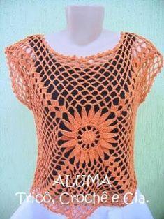 Resultado de imagem para blusas tejidas
