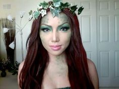 Swamp Mermaid Make-up!!!!  Or Poison Ivy?