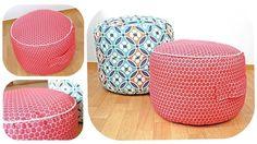 Sitzsack Nähanleitung in 2 Größen - Schnittmuster und Nähanleitungen bei Makerist