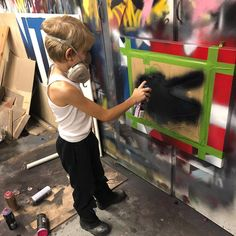 """Matthew Arnold on Instagram: """"2018 Reflections theme is """"Heroes around me"""" this is @littleluber entry. I coached him through how to paint flags... the best though is…"""" Flags, The Best, Reflection, Street Art, Painting, Instagram, Painting Art, Paintings, Flag"""