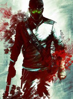 Splinter Cell Conviction: Concept Art by Xavier Thomas, via Behance