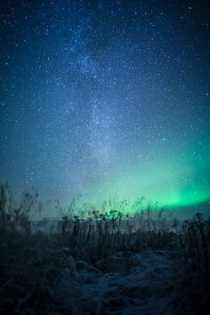 Northern Lights and the Universe (by The Aurora Zone)