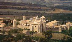 Catalonië, Poblet: cisterciënzerklooster van Santa Maria de Poblet (°1150) Unesco werelderfgoed