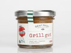Senf - Grill gut - Senf mit Tomaten & Kräutern - ein Designerstück von Senf_Pauli bei DaWanda