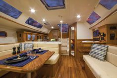 Marlow-Hunter Marine 40 Salon  See more of her here: