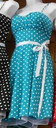 $44 Picnic Darlin' Polka Dot Pin Up Dress
