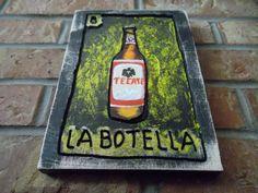 Lotería  La Botella by Sanchezz on Etsy, $56.00