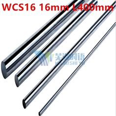25.80$  Buy here - http://alia1x.shopchina.info/1/go.php?t=32804430847 - 2pcs/lot WCS16 16mm 400mm 16mm L400mm linear shaft linear round shaft linear bushing shaft cnc linear rail 16mm rod harden  #aliexpresschina