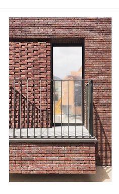 Architecture Details, Balcony, Blinds, Curtains, Home Decor, Brick, Jalousies, Blind, Interior Design