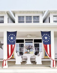 Sandra Espinet Luxury Outdoor Fourth of July Decorations