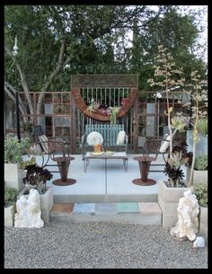Lounge pad, Rancho Reubidoux-style