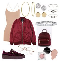 """""""Untitled #326"""" by sdesir on Polyvore featuring Valentino, Stussy, Puma, Bling Jewelry, Fallon, Magdalena Frackowiak and Accessorize"""