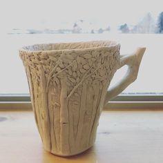 "2,015 Me gusta, 22 comentarios - Heesoo Lee (@heesooceramics) en Instagram: ""|/// #mug #porcelain #pottery #ceramics #도자기 #도예 #컵 #백토"""