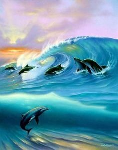 Google Image Result for http://images2.fanpop.com/image/photos/9900000/Dolphin-Art-dolphins-9919778-393-500.jpg