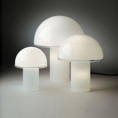 Fun Mushroom Desk Lighting - Onfale Table Lamp - Artemide