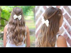 Infinity Braid Tieback Back-to-School Hairstyles Girls Back To School Hairstyles, Easy Toddler Hairstyles, Cute Girls Hairstyles, Princess Hairstyles, Short Hairstyles For Women, Trendy Hairstyles, Braid Hairstyles, Wedding Hairstyles, Short Hair Cuts