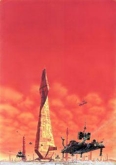 Ilustraciones de Ciencia Ficción de Peter Elson | Undermatic #spaceships #science