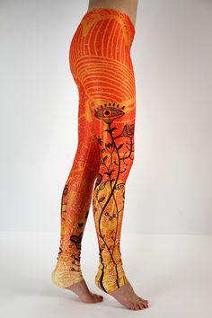 Energetyczny pomarańczowy #labelsshop #FRIFRU #orange #leggins