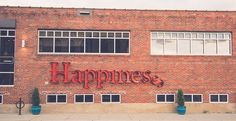 Happiness sign in Northeast, Minneapolis MN ~ The Happy Nomads