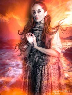 "Geillis Duncan - Voyager- Outlander Season 3  ""White Witch of Jamaica"""