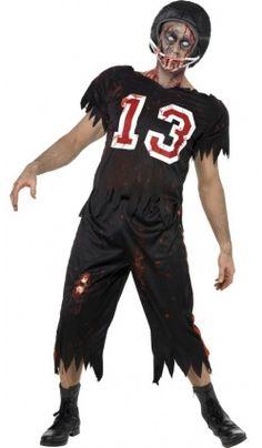 5fa1b60ea3802 Déguisement Footballeur de l'Horreur - Adulte Déguisement Footballeuse, Fete  Halloween, Costume Footballeur