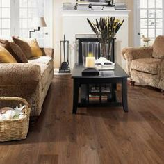 Mohawk Emmerson Rustic Saddle Oak 8 mm Thick x 6-1/8 in. Width x 54-11/32 in. Length Laminate Flooring