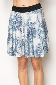 Printed Skater Skirt @ Everything5pounds.com