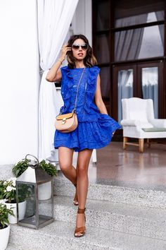 Definitely, the blue sea is the favorite color for our dresses waysify