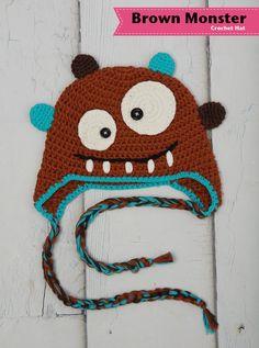 Boy crochet hat