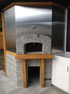 """indoor pizza oven fireplace 