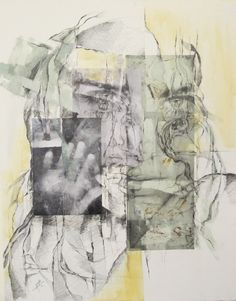 Saatchi Online Artist: sanaz vosough ghanbari; Painting, Assemblage / Collage No title