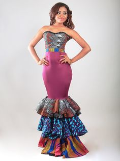 afromodtrends ~African Prints, African women dresses, Kitenge, Ankara, Kente, African fashion styles, African clothing, Nigerian style, Ghanaian fashion ~DK